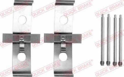 OJD Quick Brake 109-1674 - Piederumu komplekts, Disku bremžu uzlikas interparts.lv