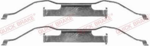 OJD Quick Brake 1091148 - Piederumu komplekts, Disku bremžu uzlikas interparts.lv