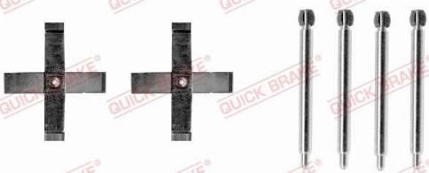 OJD Quick Brake 1091271 - Piederumu komplekts, Disku bremžu uzlikas interparts.lv