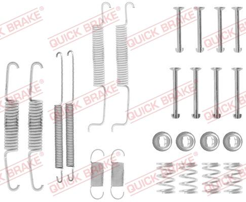 OJD Quick Brake 1050569 - Piederumu komplekts, Bremžu loki interparts.lv