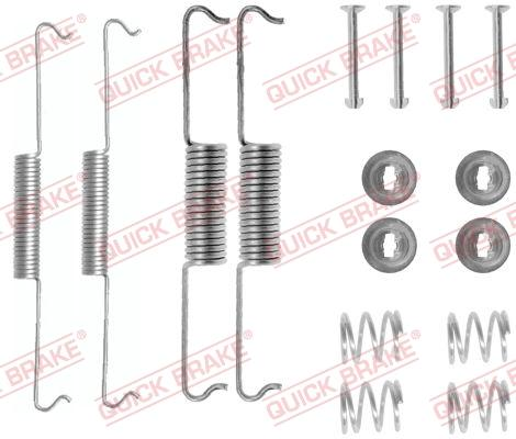 OJD Quick Brake 105-0521 - Piederumu komplekts, Bremžu loki interparts.lv