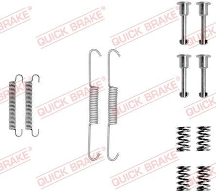 OJD Quick Brake 1050690 - Piederumu komplekts, Stāvbremzes mehānisma bremžu loks interparts.lv