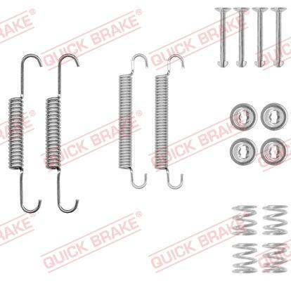 OJD Quick Brake 105-0020 - Piederumu komplekts, Stāvbremzes mehānisma bremžu loks interparts.lv