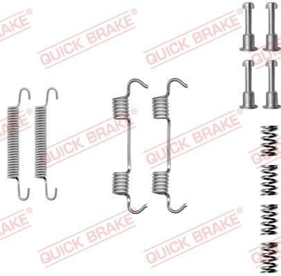 OJD Quick Brake 1050801 - Piederumu komplekts, Stāvbremzes mehānisma bremžu loks interparts.lv