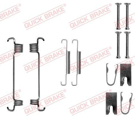 OJD Quick Brake 1050875 - Piederumu komplekts, Stāvbremzes mehānisma bremžu loks interparts.lv