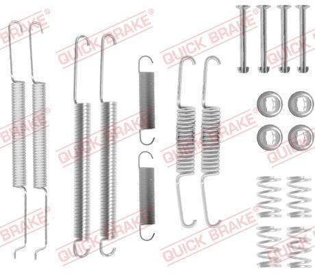 OJD Quick Brake 1050726 - Piederumu komplekts, Bremžu loki interparts.lv