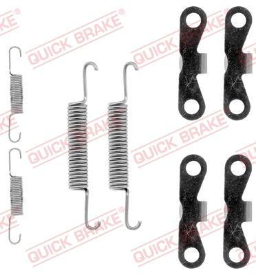 OJD Quick Brake 1050720 - Piederumu komplekts, Stāvbremzes mehānisma bremžu loks interparts.lv