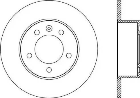 FREMAX BD-8767 - Bremžu diski interparts.lv