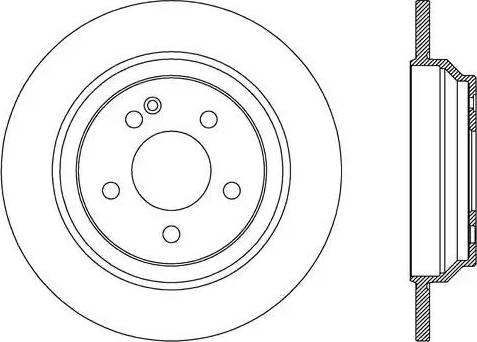 FREMAX BD-0423 - Bremžu diski interparts.lv