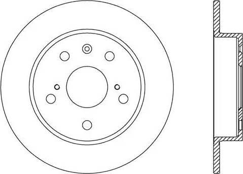 FREMAX BD-6097 - Bremžu diski interparts.lv