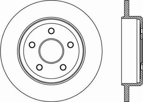 FREMAX BD-9275 - Bremžu diski interparts.lv