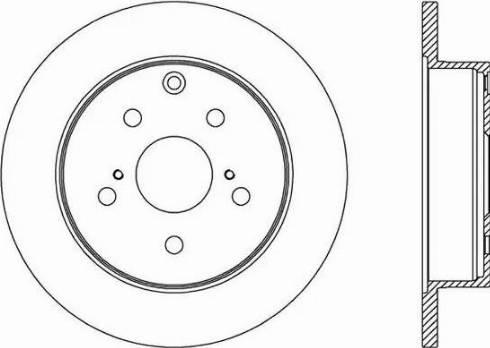 FREMAX BD-2882 - Bremžu diski interparts.lv