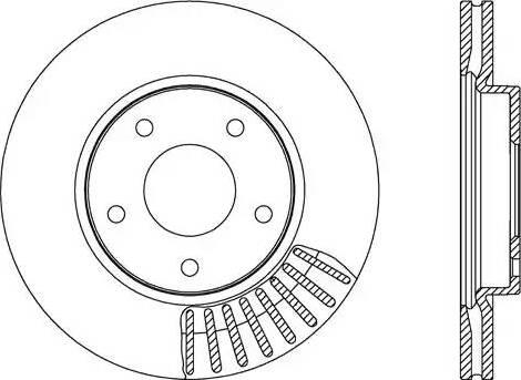 FREMAX BD-2064 - Bremžu diski interparts.lv