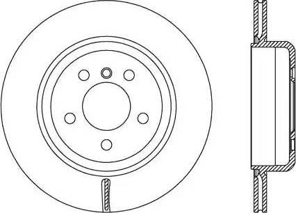 FREMAX BD-3558 - Bremžu diski interparts.lv