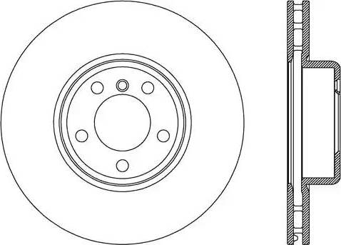 FREMAX BD-4669 - Bremžu diski interparts.lv