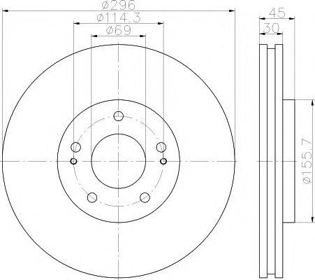 Pemebla JAPDI-595 - Bremžu diski interparts.lv