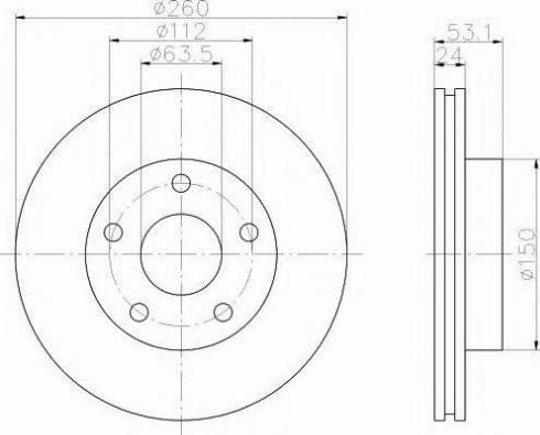 Pagid 51018 - Bremžu diski interparts.lv