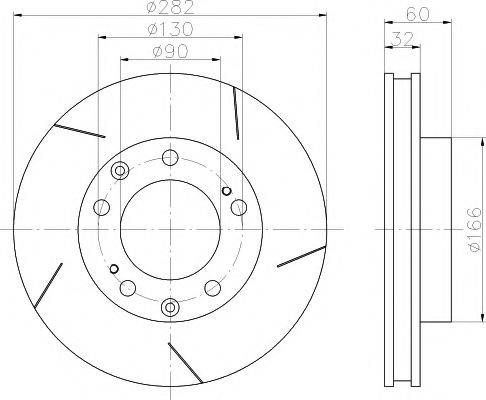 Pagid 52618 - Bremžu diski interparts.lv