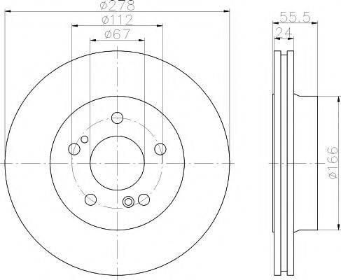 Pagid 52129 - Bremžu diski interparts.lv