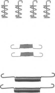 Pagid X0173 - Piederumu komplekts, Stāvbremzes mehānisma bremžu loks interparts.lv