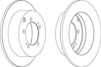 FREMAX BD-8326 - Bremžu diski interparts.lv