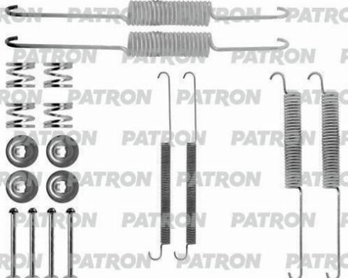 Patron PSRK0121 - Piederumu komplekts, Bremžu loki interparts.lv