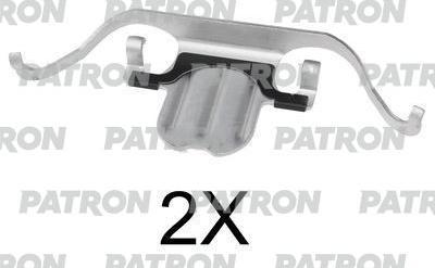 Patron PSRK1041 - Piederumu komplekts, Disku bremžu uzlikas interparts.lv