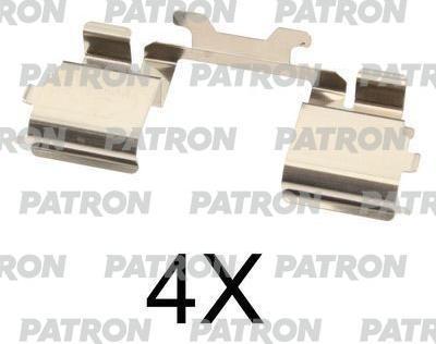 Patron PSRK1058 - Piederumu komplekts, Disku bremžu uzlikas interparts.lv