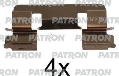 Patron PSRK1067 - Piederumu komplekts, Disku bremžu uzlikas interparts.lv