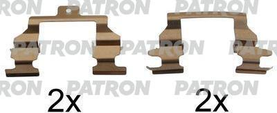 Patron PSRK1085 - Piederumu komplekts, Disku bremžu uzlikas interparts.lv