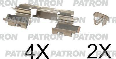 Patron PSRK1080 - Piederumu komplekts, Disku bremžu uzlikas interparts.lv