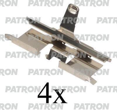 Patron PSRK1081 - Piederumu komplekts, Disku bremžu uzlikas interparts.lv