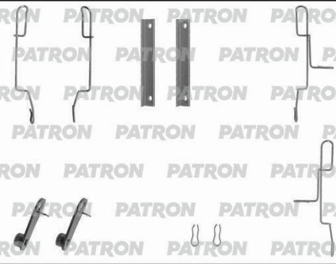 Patron PSRK1036 - Piederumu komplekts, Disku bremžu uzlikas interparts.lv