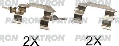 Patron PSRK1078 - Piederumu komplekts, Disku bremžu uzlikas interparts.lv