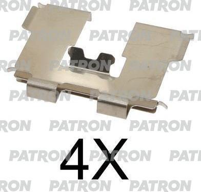 Patron PSRK1154 - Piederumu komplekts, Disku bremžu uzlikas interparts.lv