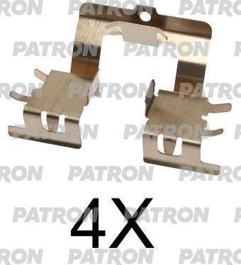Patron PSRK1153 - Piederumu komplekts, Disku bremžu uzlikas interparts.lv