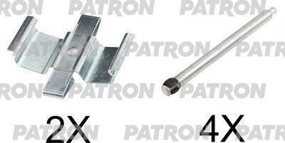 Patron PSRK1185 - Piederumu komplekts, Disku bremžu uzlikas interparts.lv