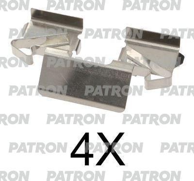 Patron PSRK1137 - Piederumu komplekts, Disku bremžu uzlikas interparts.lv