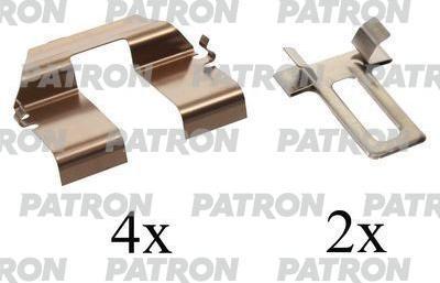 Patron PSRK1128 - Piederumu komplekts, Disku bremžu uzlikas interparts.lv