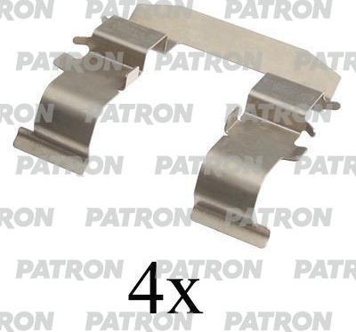Patron PSRK1173 - Piederumu komplekts, Disku bremžu uzlikas interparts.lv