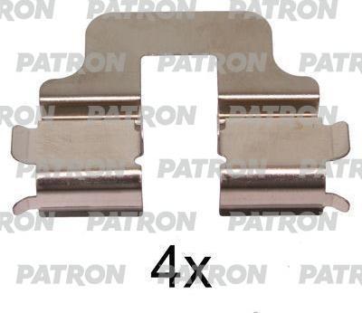Patron PSRK1344 - Piederumu komplekts, Disku bremžu uzlikas interparts.lv