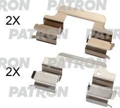 Patron PSRK1345 - Piederumu komplekts, Disku bremžu uzlikas interparts.lv