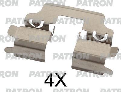 Patron PSRK1334 - Piederumu komplekts, Disku bremžu uzlikas interparts.lv