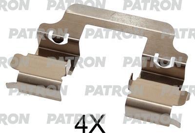Patron PSRK1321 - Piederumu komplekts, Disku bremžu uzlikas interparts.lv