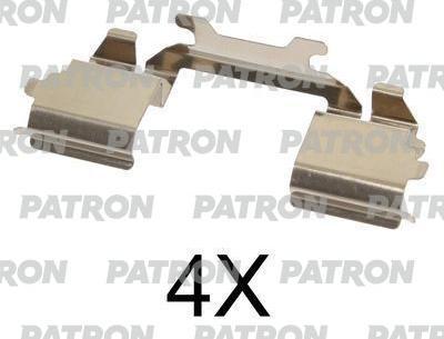 Patron PSRK1323 - Piederumu komplekts, Disku bremžu uzlikas interparts.lv