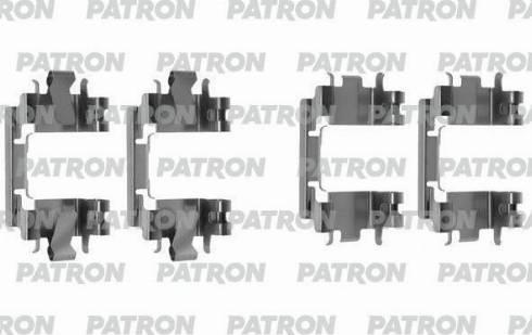 Patron PSRK1241 - Piederumu komplekts, Disku bremžu uzlikas interparts.lv