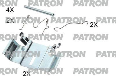 Patron PSRK1204 - Piederumu komplekts, Disku bremžu uzlikas interparts.lv