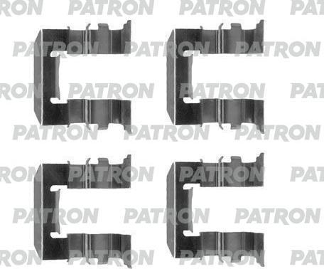 Patron PSRK1205 - Piederumu komplekts, Disku bremžu uzlikas interparts.lv