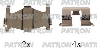 Patron PSRK1203 - Piederumu komplekts, Disku bremžu uzlikas interparts.lv