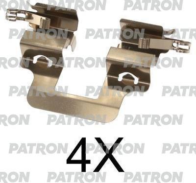 Patron PSRK1280 - Piederumu komplekts, Disku bremžu uzlikas interparts.lv